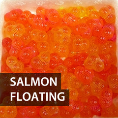 100 Tied Salmon Floating Sacs (minimum)