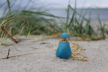 Load image into Gallery viewer, Aquamarine perfumebottle Necklace