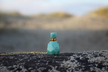 Load image into Gallery viewer, Amazonite Perfumebottle Necklace