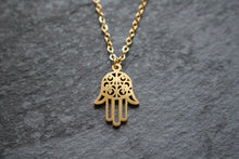 Load image into Gallery viewer, Hamsa Necklace