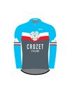 Crozet Cycling Club Long Sleeve Mid-weight Jersey