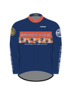 Licking Valley Velo Fleece Lined Long Sleeve Jersey