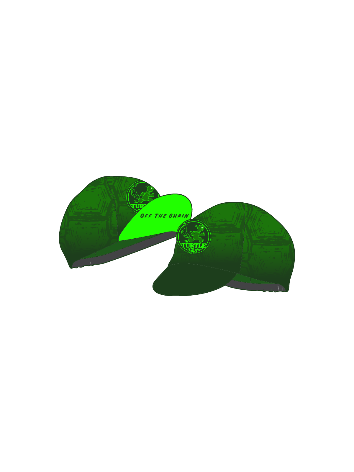 TURTLE Effect Cycling Cap