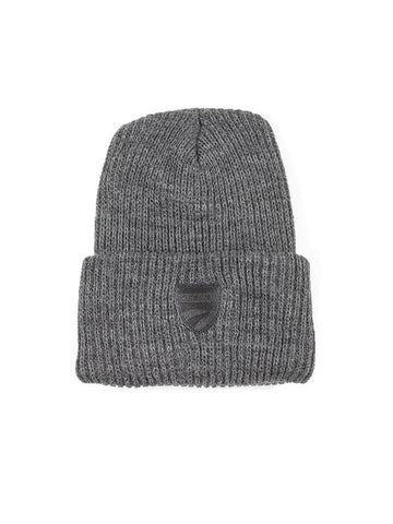 Winter Beanie - Charcoal Grey