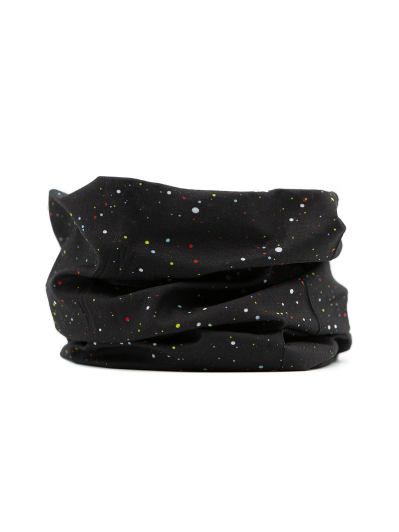 Black Speckled Neck Gaiter (IN STOCK SHIPS NOW)