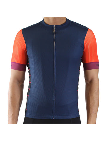 NEW - C3 Aero Climbers Jersey - Navy + Red
