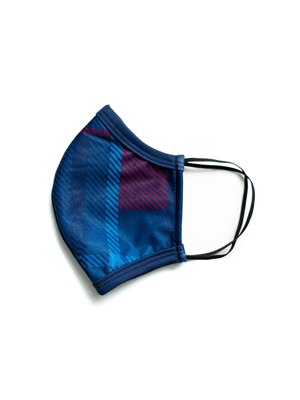 Cascade Creek Plaid Face Mask