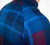 Cascade Creek Plaid Long Sleeve Jersey