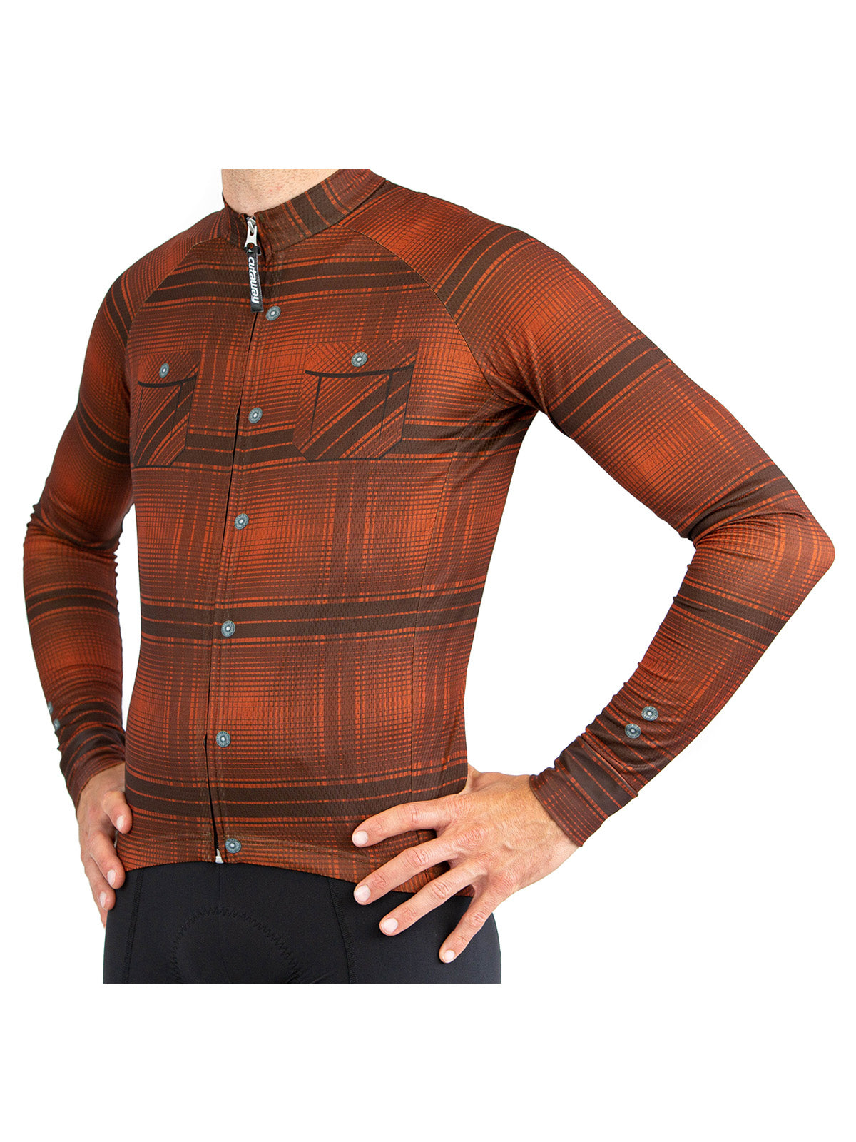 Castlewood Plaid Long Sleeve Jersey