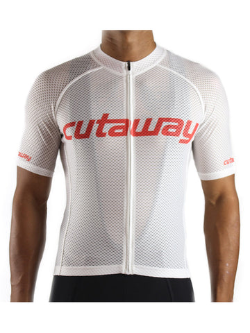 Cutaway Full Cloud™ Jersey - White