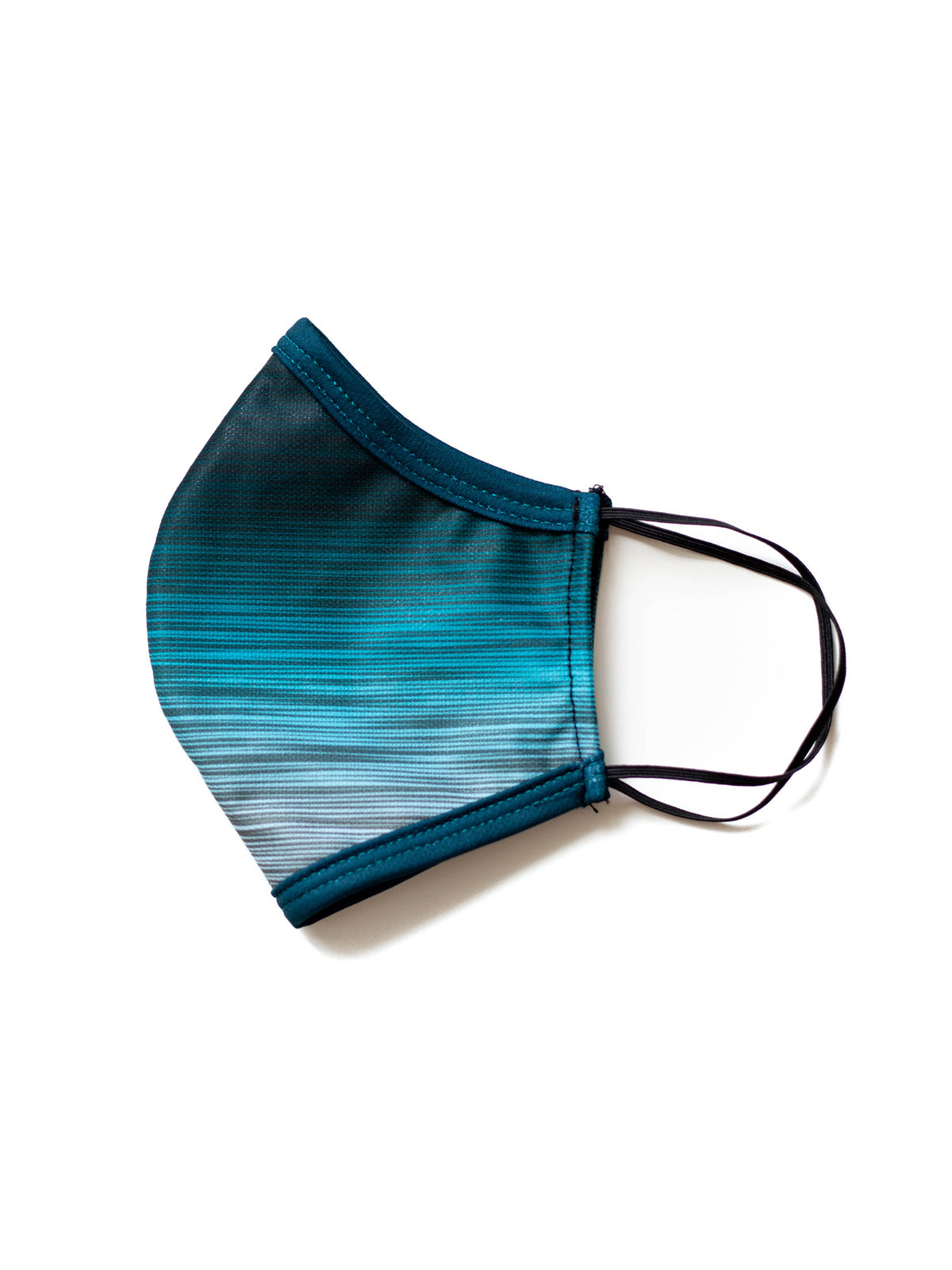 Coastline Mirage Plaid Face Mask