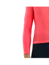 Fleece-lined Arm Warmers - Neon Coral