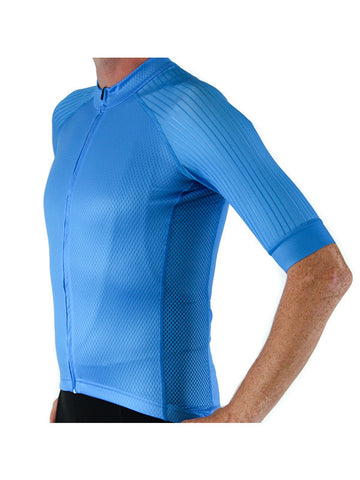 Cutaway Pro Jersey - Bright Cyan (1 SMALL AVAILABLE)
