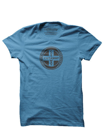 Cutaway Dominion T-Shirt - Blue