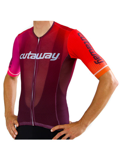 SALE - Limited Edition Fade Study Collarless Aero Jersey