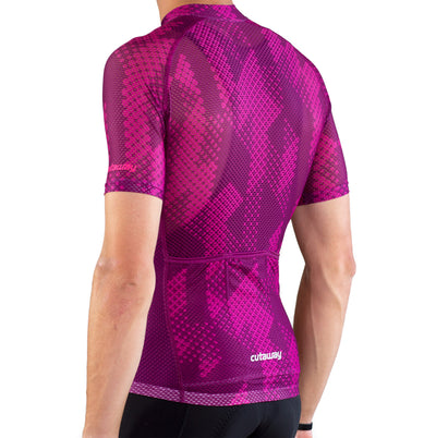 Cutaway Full Cloud™ Jersey - Formation Magenta