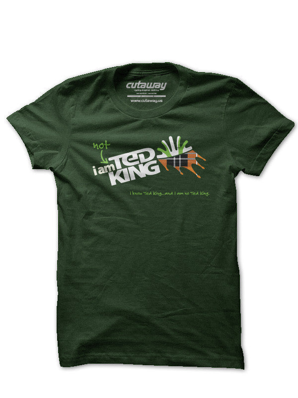 #IamnotTedKing Wicked Good! Heather Forest (1 Women's Medium Available)