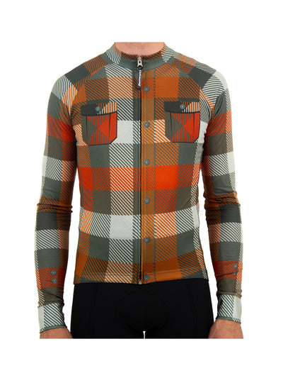 Lost River Plaid Long Sleeve Jersey