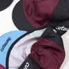 SALE - Cycling Cap - Maroon + Black