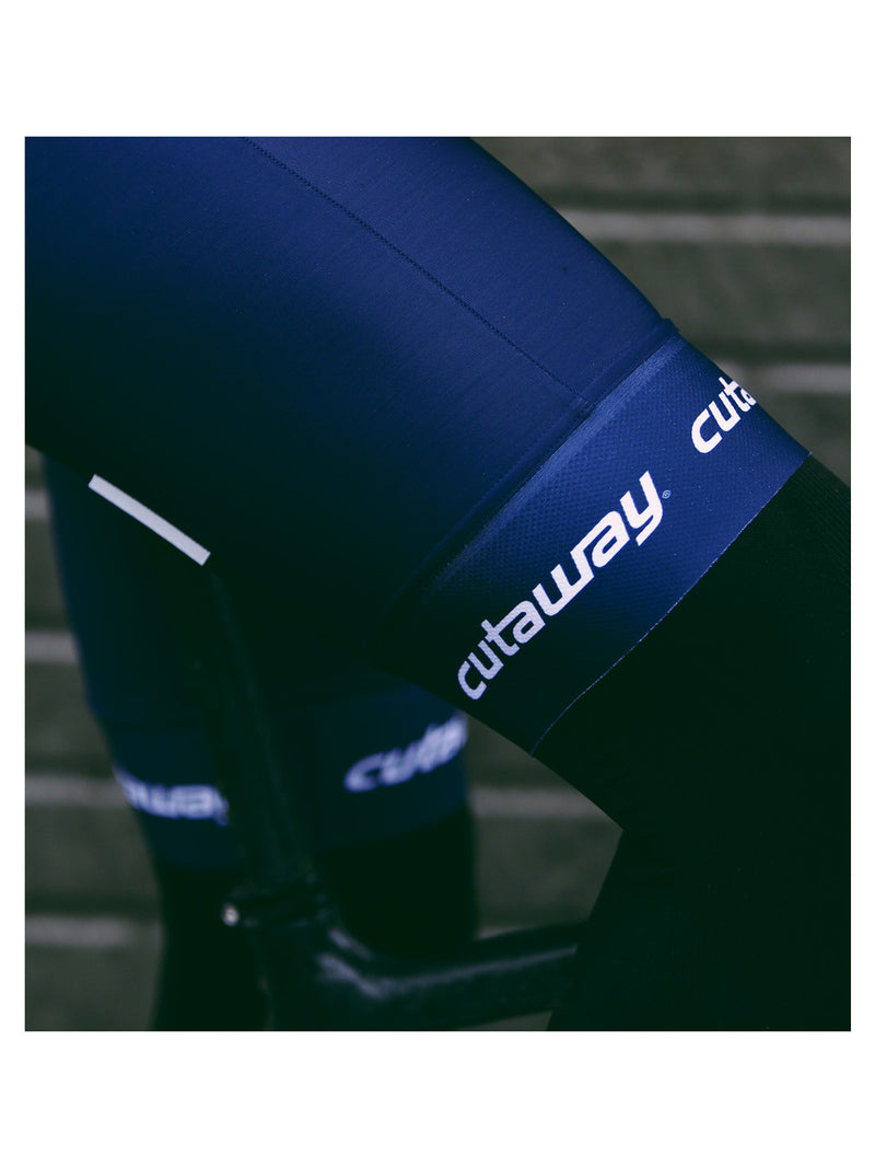 Fleece-lined Thermal Pro3 Bib Shorts - Dark Navy