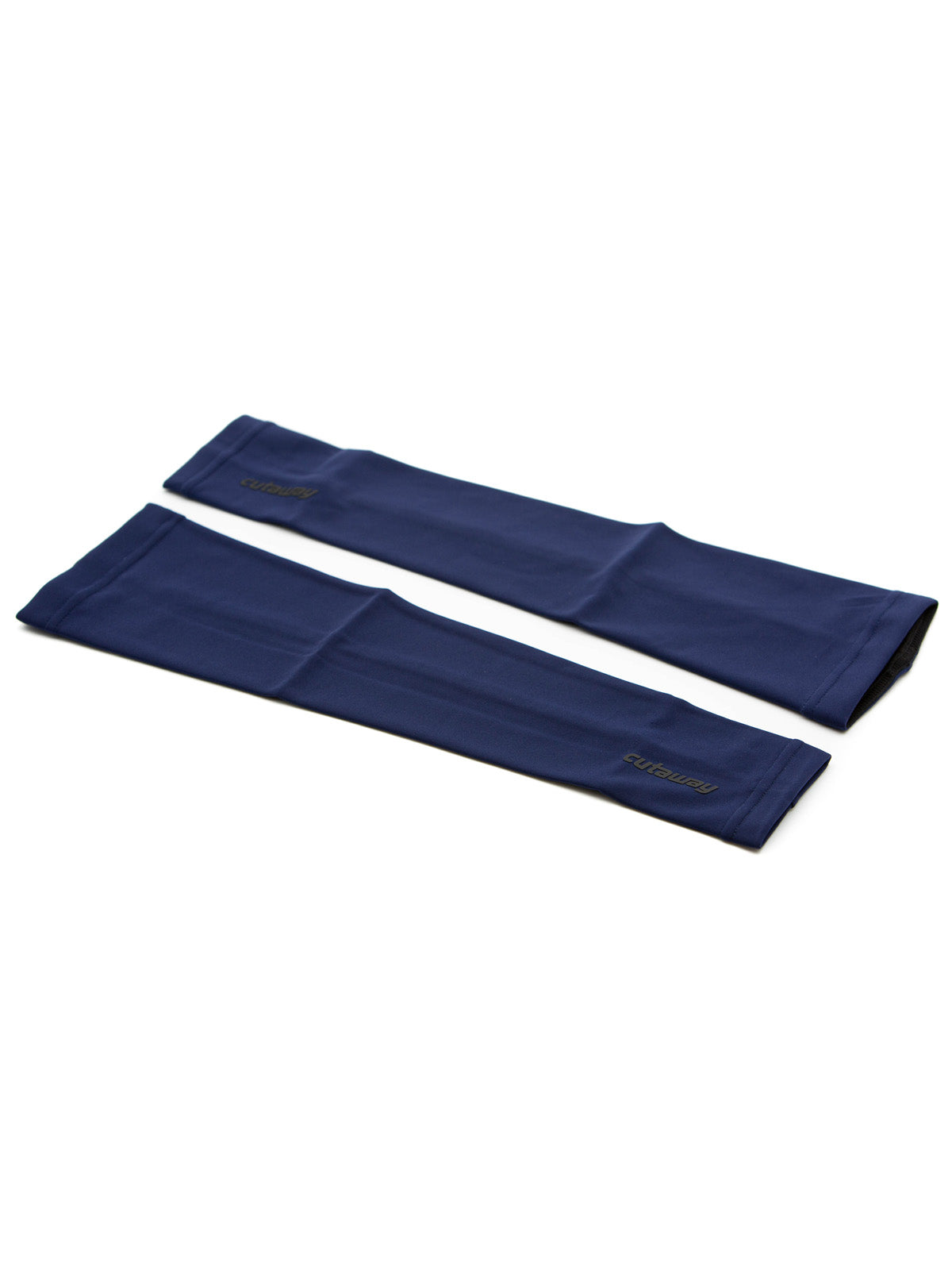 Fleece-lined Arm Warmers - Dark Navy