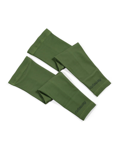 Fleece Arm Warmers - Olive