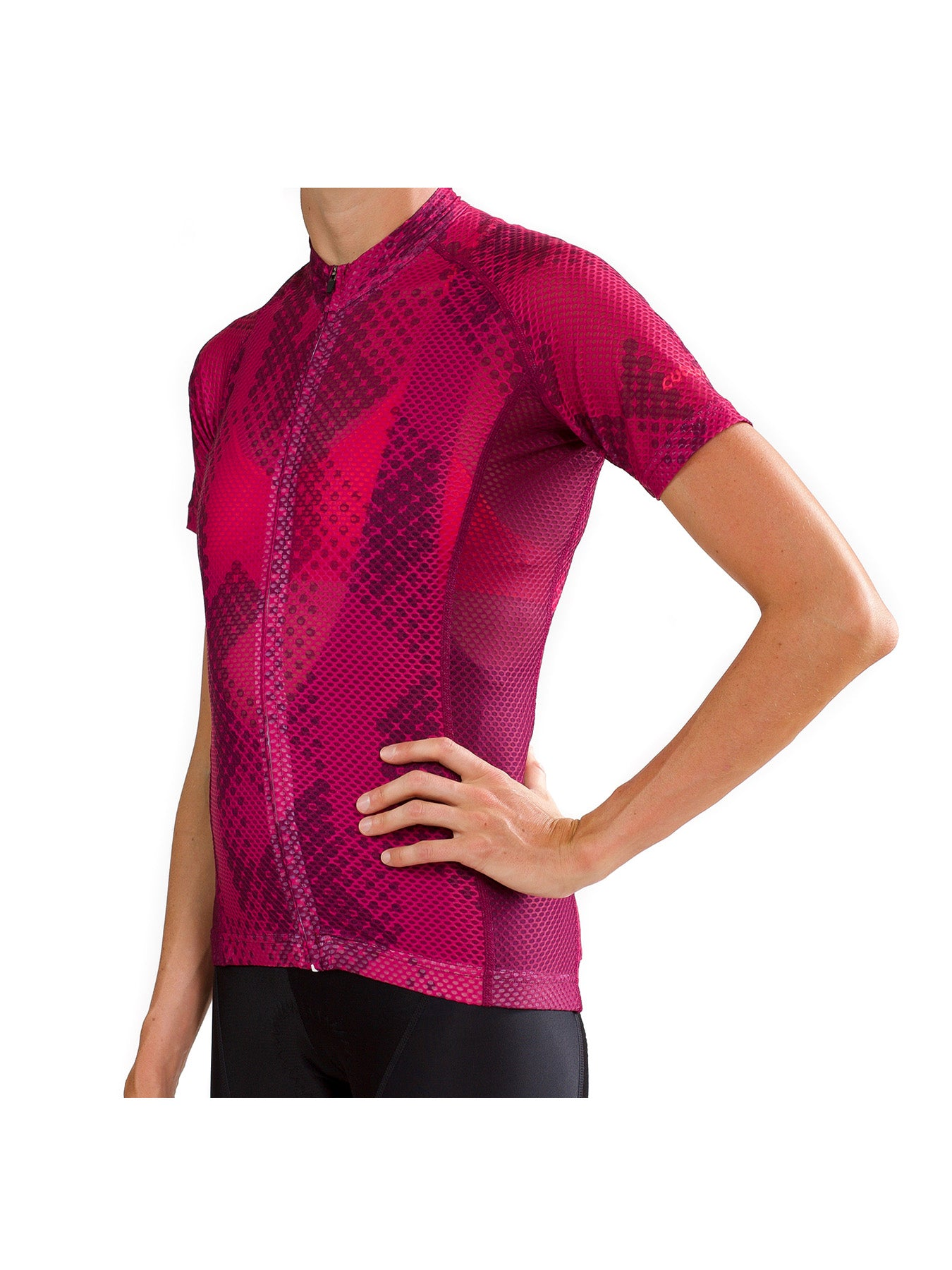 Cutaway Full Cloud™ Jersey - Formation Magenta - Womens