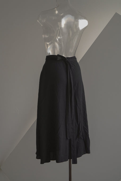 American Apparel Flutter Wrap Skirt