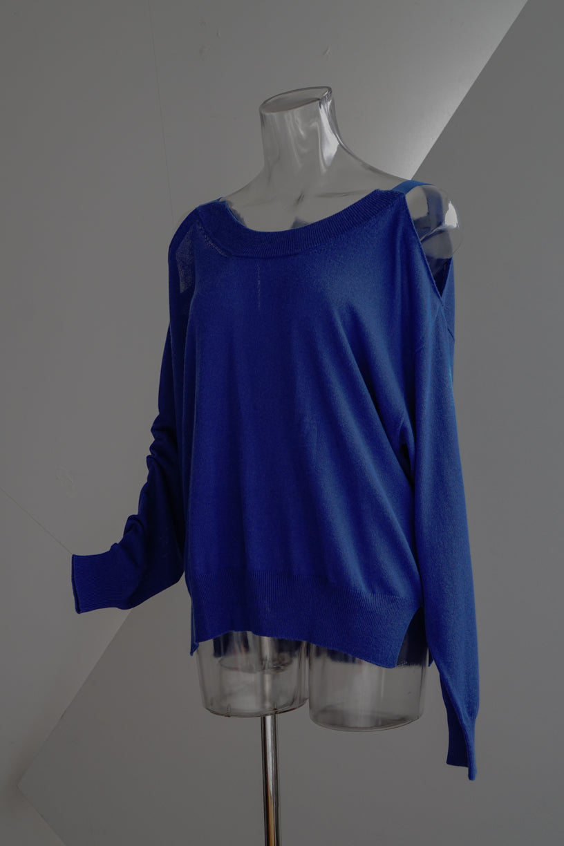 Maison Margiela Crew-Neck Cut-Out