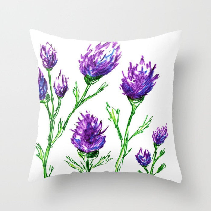 Clover Decorative Pillow Cover - Throw Pillow Cushion - Home Decor