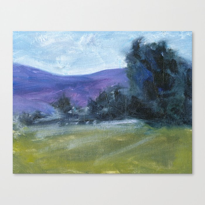 Draped in a Dream Oil Painting Landscape Nature Inspired Contemporary Art Print