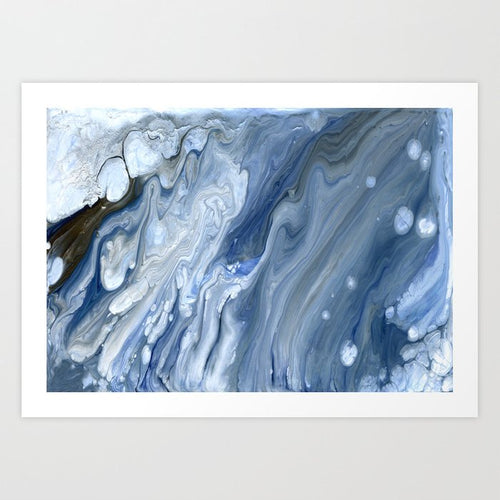 Ocean Abstract Art - Aecor Contemporary Art Print