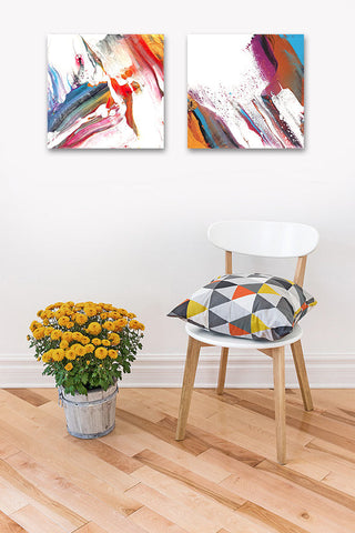 Hexa - Abstract Acrylic Painting on Canvas