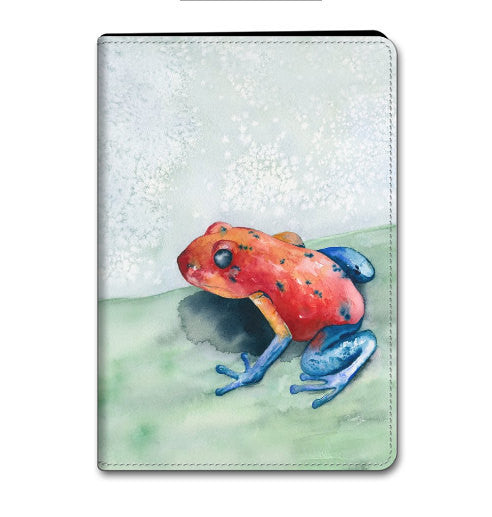 iPad Frog Case - iPad Mini iPad Air 2 / 3 / 4 Hard or Folio Case - Designer Device Cover - Brazen Design Studio