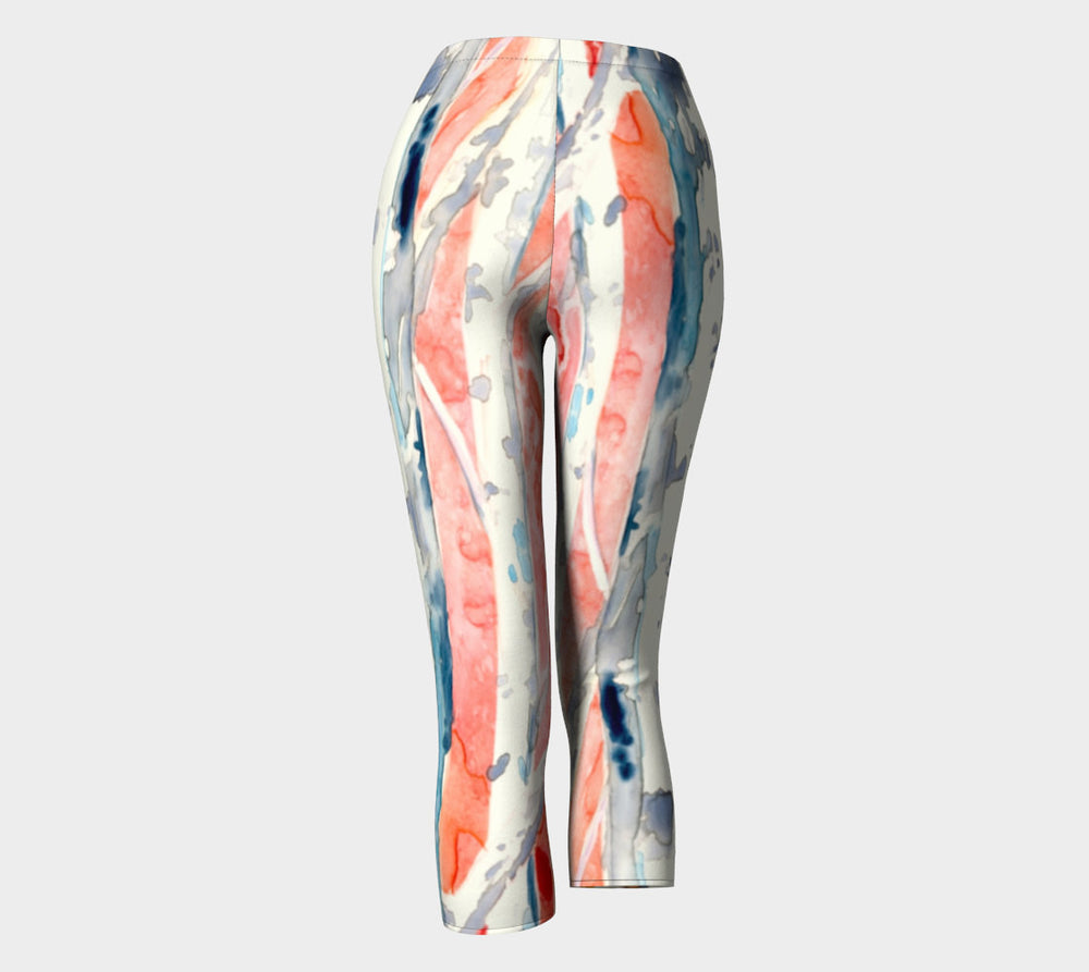 Designer Clothing - Tree Art Painting - Artistic All Over Printed Leggings