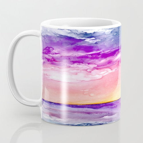 Artistic Sunset Coffee Mug - Kitchen Decor Mug Drinkware