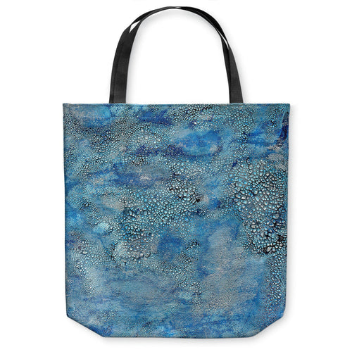 Epsilon Abstract Tote Bag - Water Watercolor Painting - Shopping Bag