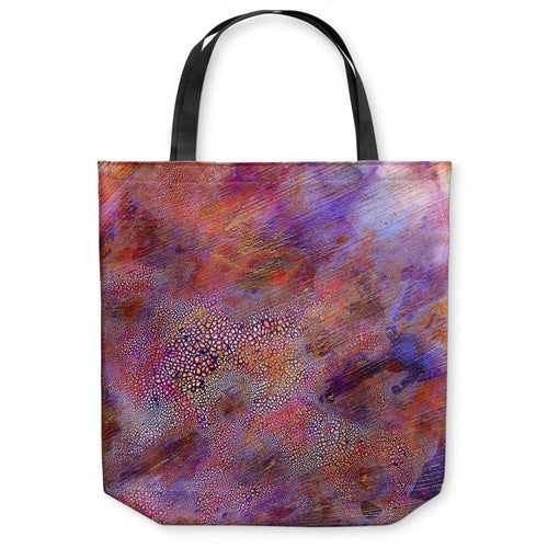 Myriad Abstract Tote Bag - Water Watercolor Painting - Shopping Bag