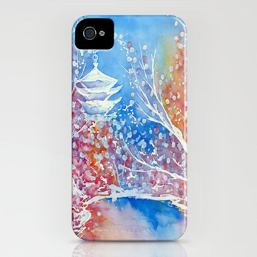 Floral Phone Case Japanese Temple   Cherry...