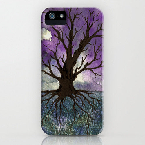 Tree Of Life Phone Case   Gothic Watercolor...