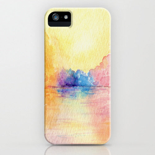Phone Case Autumn Reflections Painting Art  ...