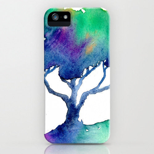 Watercolor Phone Case   Oak Tree Cell Phone...