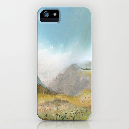 Meadow Phone Case   Landscape Painting  ...