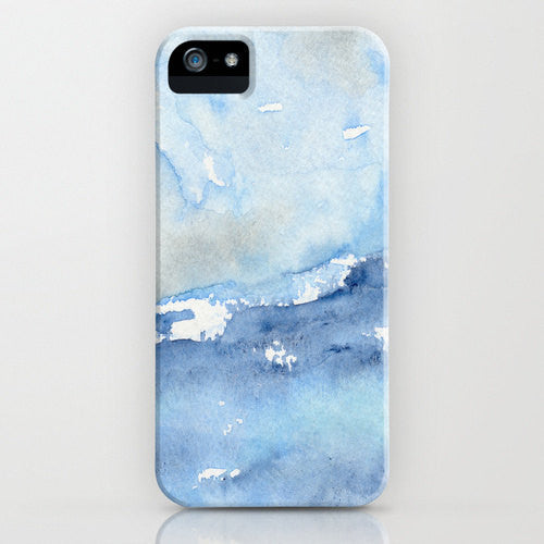 Ocean Wave Phone Case   Watercolor Painting  ...