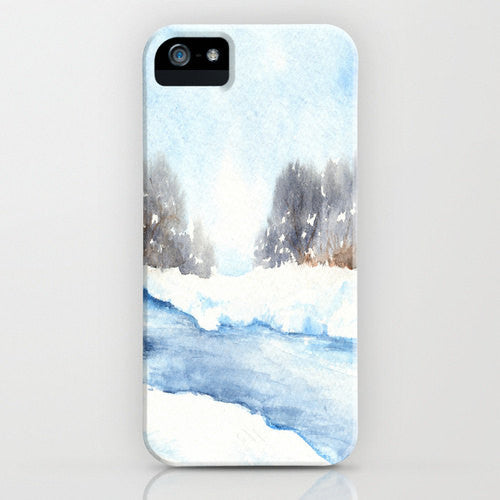I Phone Case Mid Winter Musing   Snowy...
