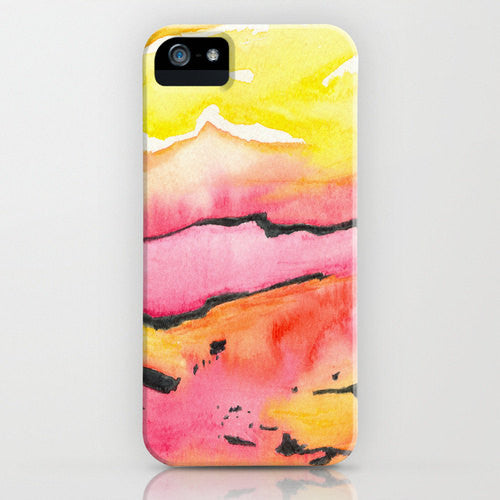 Geometric Phone Case   Land Lines   Abstract...