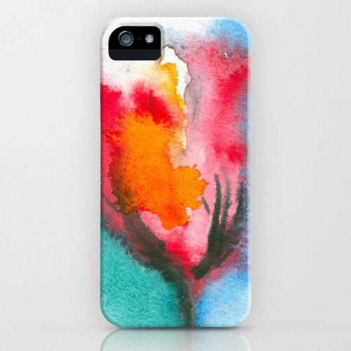 I Phone 7 Case Floral Phone Case   Watercolor...