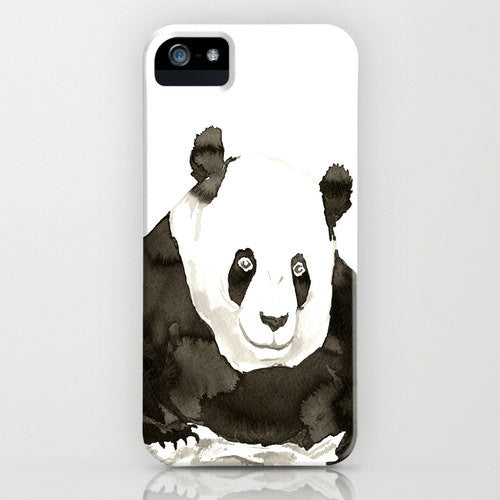 Giant Panda Phone Case   Ink Painting  ...