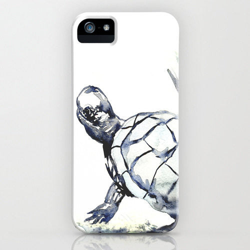 Turtle Phone Case   Wildlife Painting Cell...