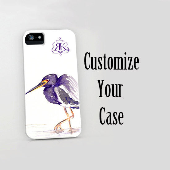 Personalized Phone Case - Custom Name Initials Logo or Monogram Case - Designer iPhone 7 Case - Brazen Design Studio